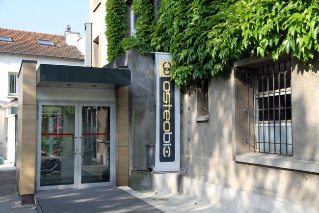 Entrée du campus de l'école d'ostéopathie Ostéobio Paris
